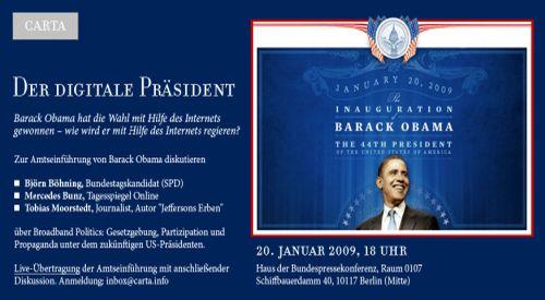 'Carta - Der digitale Präsident