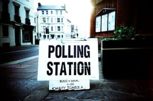 In Polls We Trust. Photo by kagey_b @flickr. License: Creative Commons Attribution-Share Alike 2.0 Generic