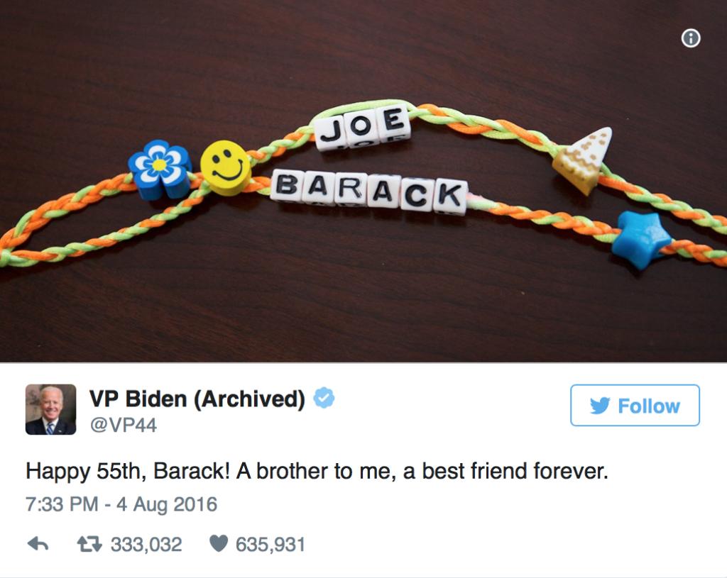 Tweet von Joe Biden